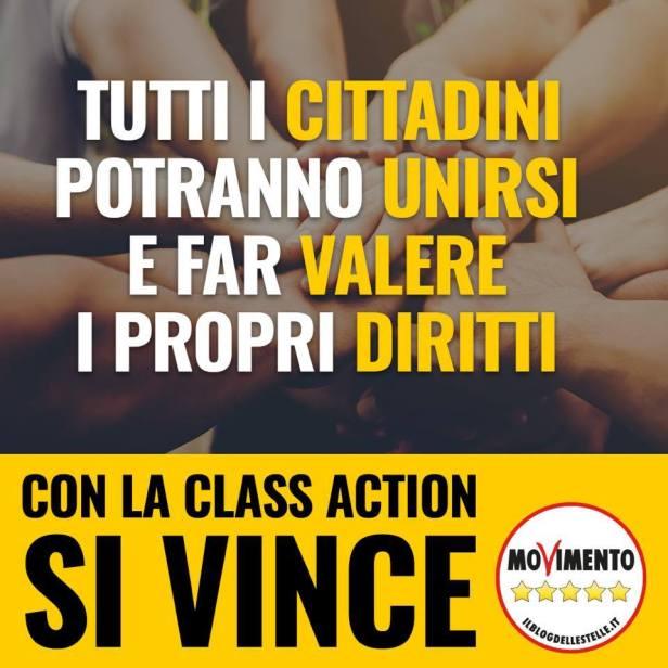 ? NUOVA CLASS ACTION: L'UNIONE FA LA FORZA - m5stelle.com - notizie m5s